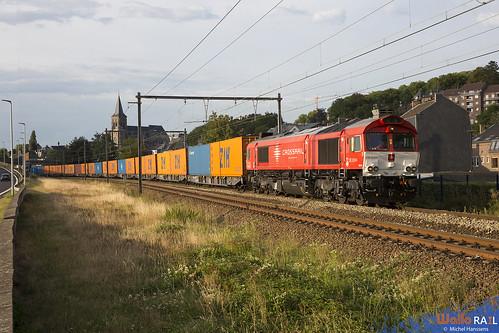DE 6314 . Crossrail . Z 41580 . Visé . 16.08.20.