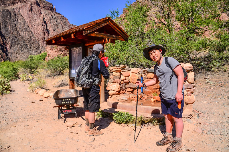 Water refilling station at the bottom on the South Kaibab Trail (2)
