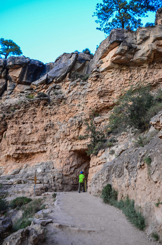 Upper Tunnel at the Bright Angel Trail