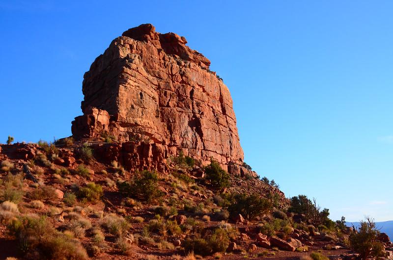 Hiking below O'Neil Butte 1