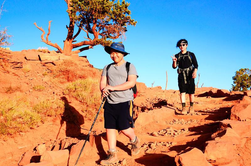 Hike on South Kaibab Trail 2