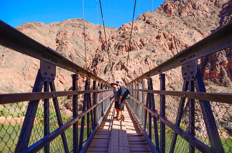 Black Bridge(Kaibab Suspension Bridge)