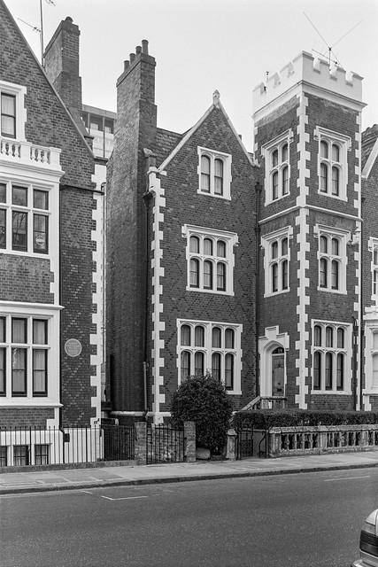 St Anns Villas, Notting Hill, Kensington & Chelsea, 1987 87-12d-15-positive_2400