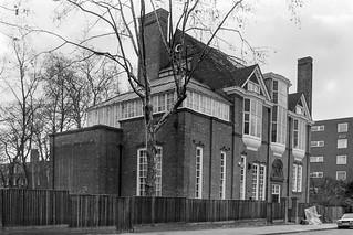 Melbury Rd, Holland Park, Kensington & Chelsea, 1987  87-12d-63-positive_2400
