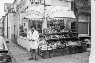 Kenway Rd, Earls Court, Kensington & Chelsea, 1987  87-12e-42-positive_2400