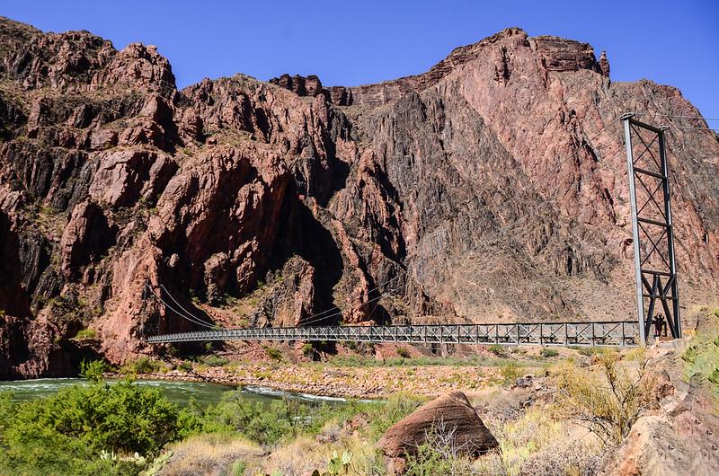 Silver bridge over the Colorado River (1)