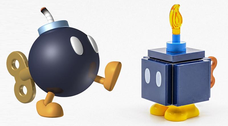 LEGO Mario Charactes Bobomb