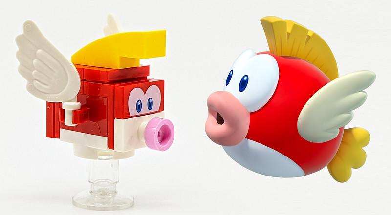 LEGO Mario Characters Cheep