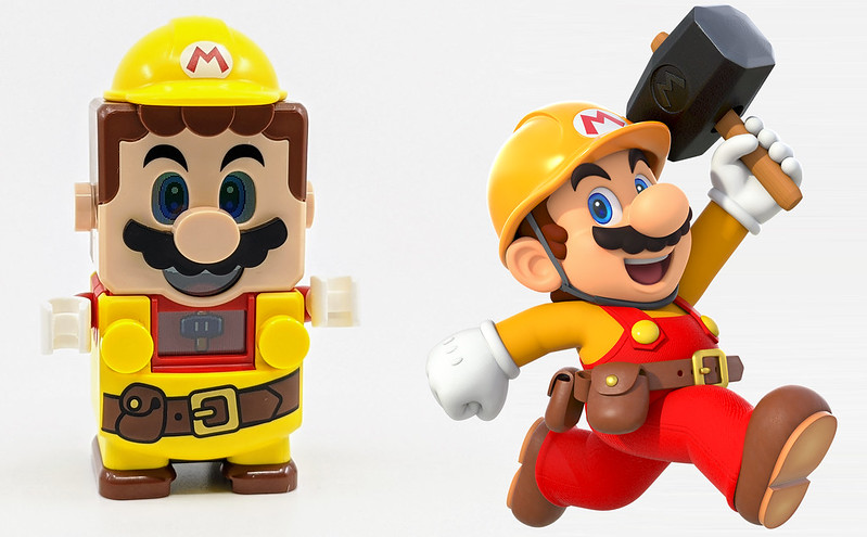 LEGO Mario Characters Builder