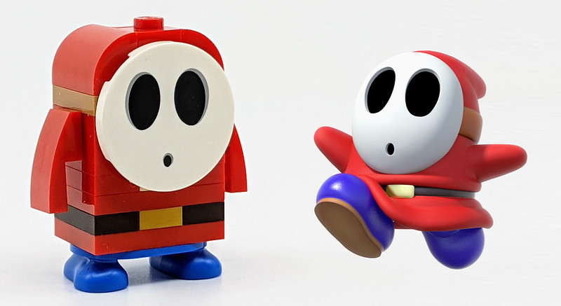 LEGO Mario Character Shy Guy