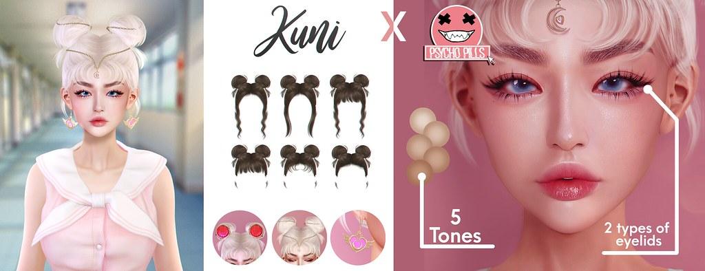 Kuni x Psycho Pills
