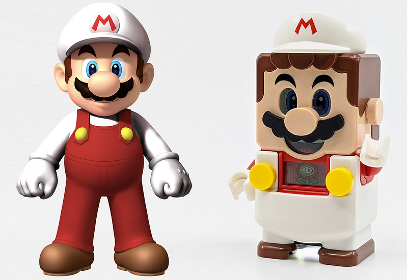 LEGO Mario Characters Fire