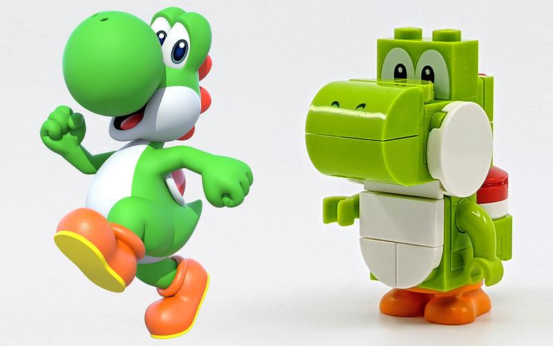 LEGO Mario Characters Yoshi