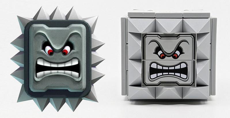 LEGO Mario Characters Thwomp