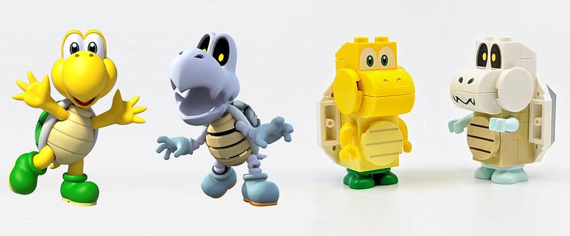 LEGO Mario Characters Koopas