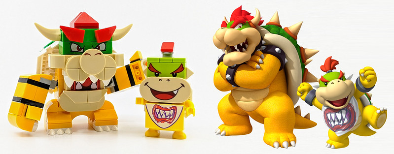 LEGO Mario Characters Bowser