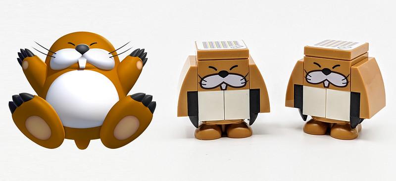 LEGO Mario Character Monty