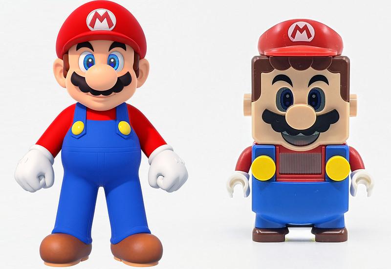 LEGO Mario Character Mario