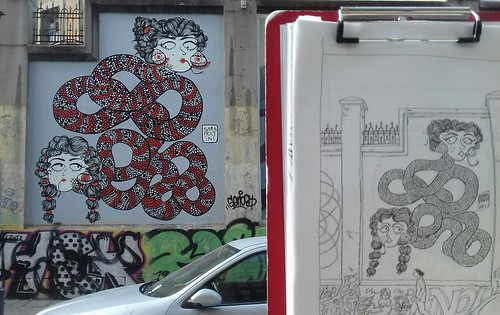 Spain, Madrid, La Tabacalera de Lavapiés