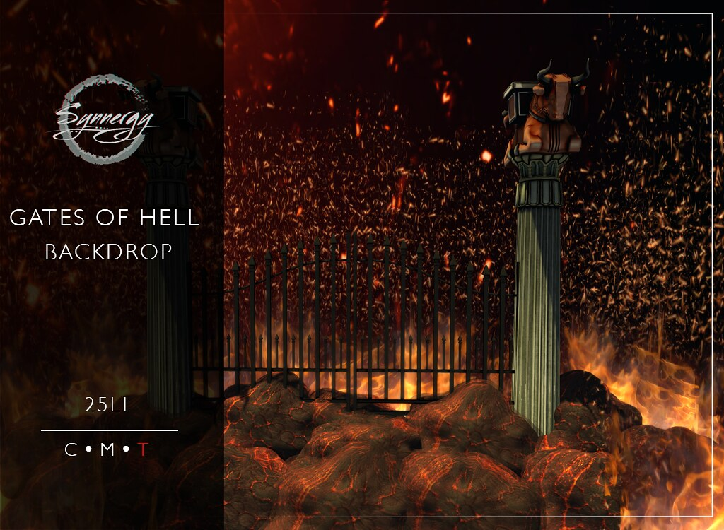 Gates of Hell Backdrop
