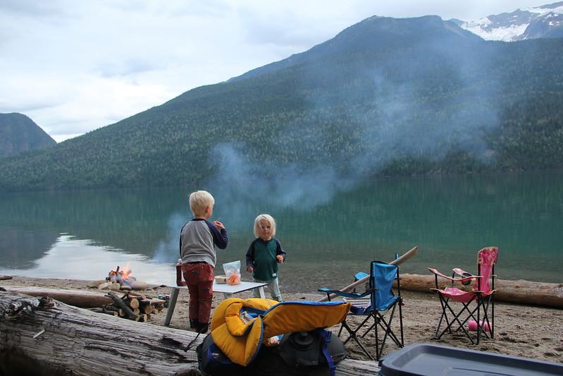 Revelstoke Lake Canoe Trip