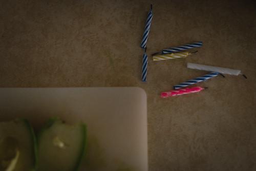 Birthday leftovers