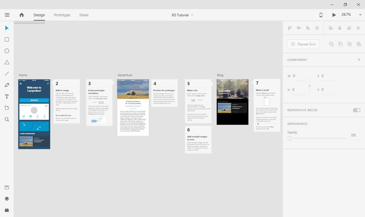 Working with Adobe XD CC 2020 v29.2.32.3 full