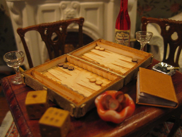 A Game of Backgammon Before Retiring?