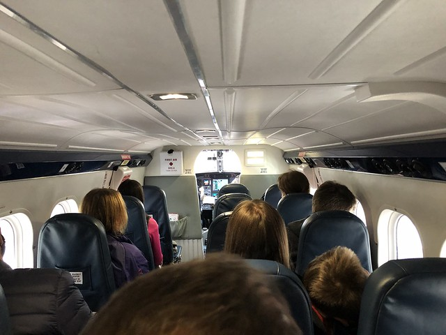 Onboard G-SGTS DHC6 Loganair GLA-BRR 15/8/20