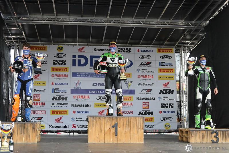 IDM Supersport 600 podium