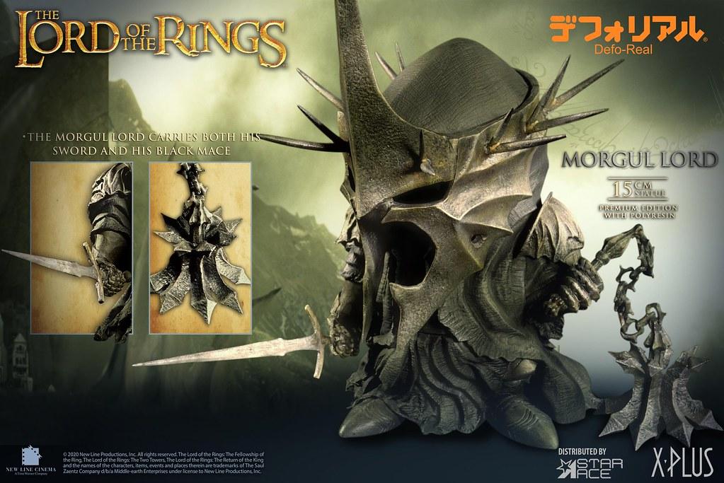 Defo-Real系列《王者再臨》安格馬巫王(Morgul Lord)迷你雕像