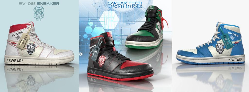 L&B@ Man Cave Aug 2020 – SwearTECH EV-085 Sneakers!