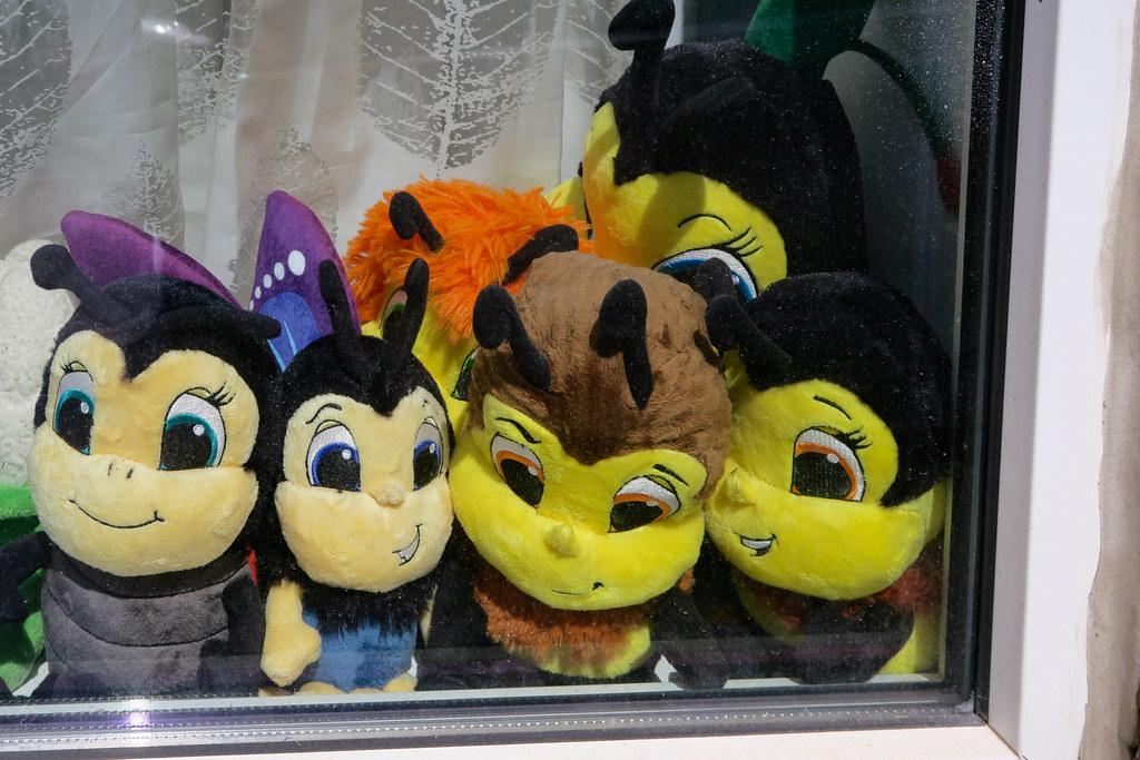 Maya l'abeille stuffed toys