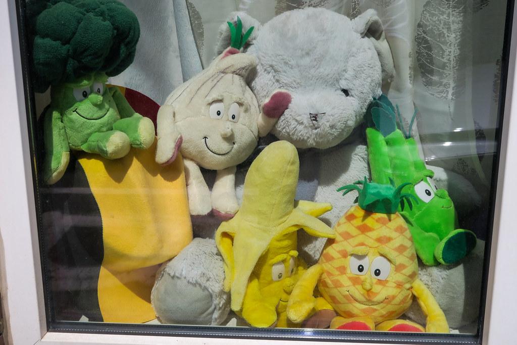 Veggies stuffed toys