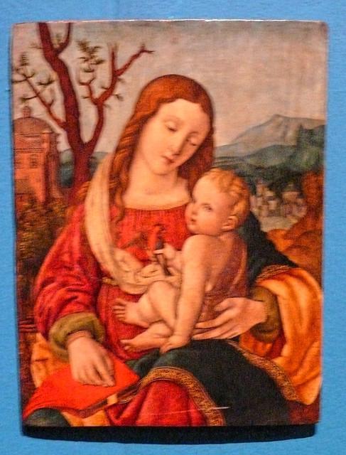 Castello Pavia (2) - Madonna con Gesù Bambino