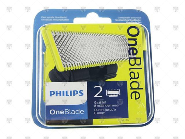 TESTINE PER RASOIO PHILIPS ONE BLANDE QP220/50 PZ.2 - 0