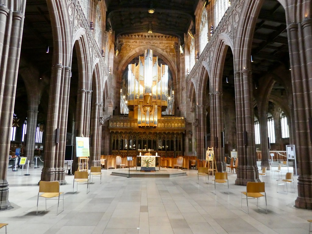 Interior, Manchester Cathedral