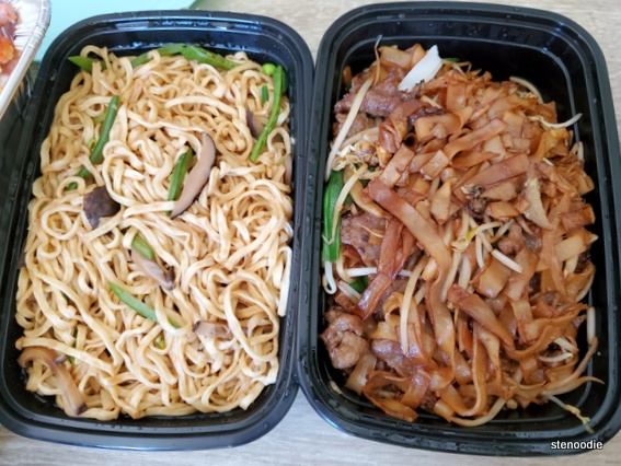 two types of noodles