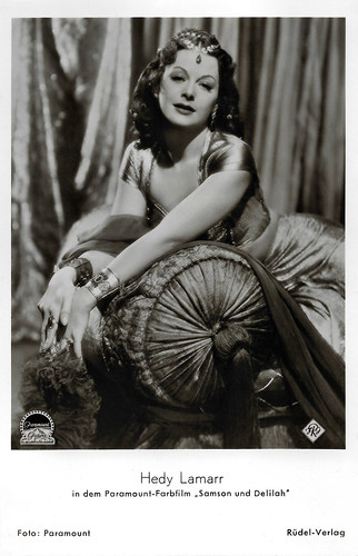 Hedy Lamarr in Samson and Delilah (1949)