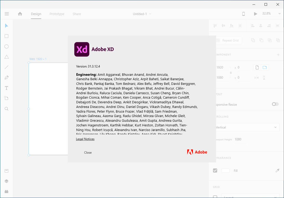 Working with Adobe XD CC 2020 v31.3.12 full