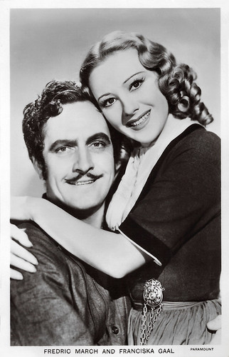 Fredric March and Franziska Gaal in The Buccaneer (1938)