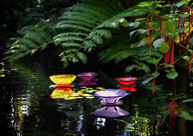 Glass art across the water