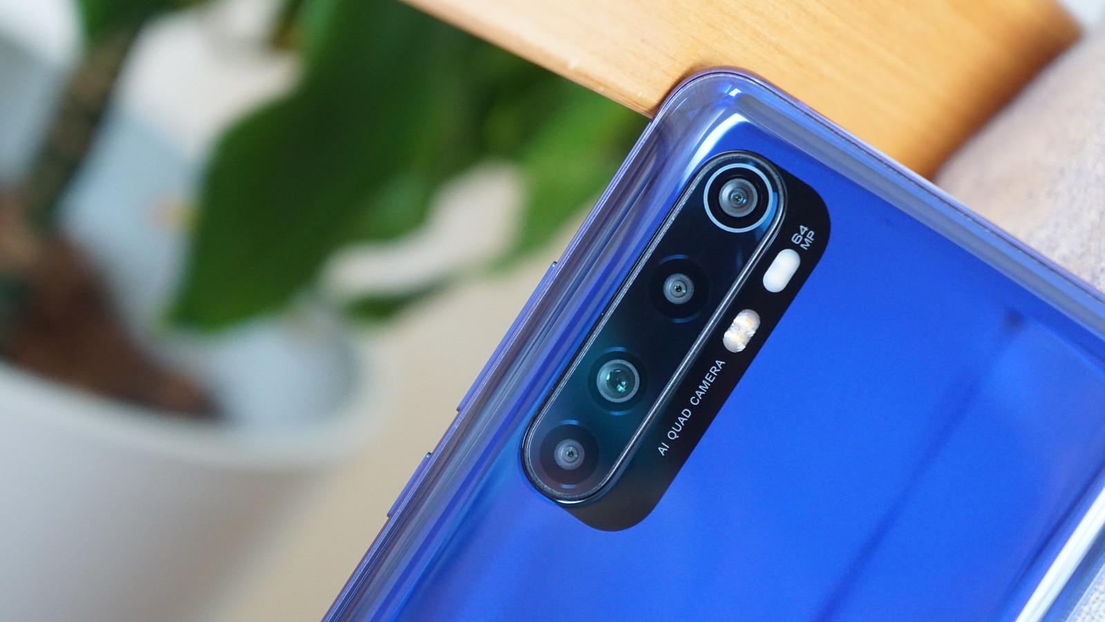 Mi Note 10 Lite レビュー - カメラ