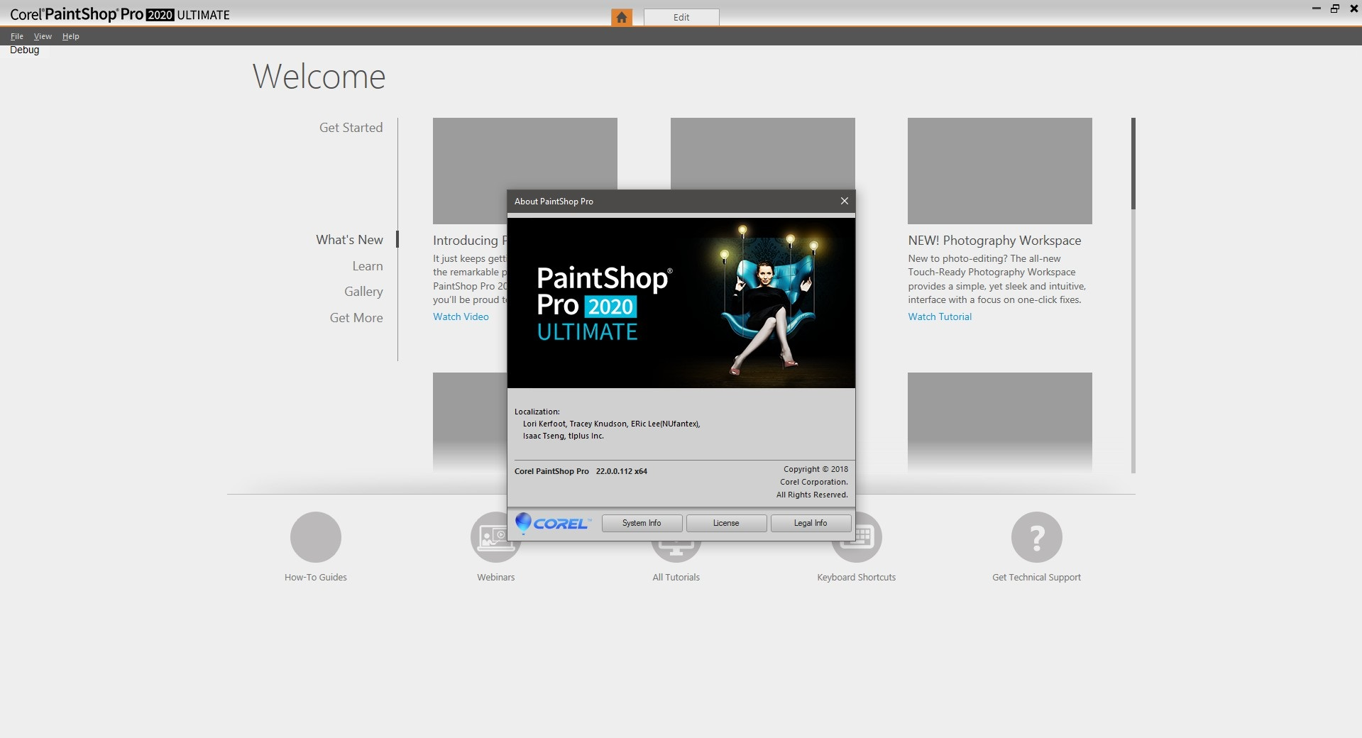 Working with Corel PaintShop Pro 2020 22.0.0.112 full