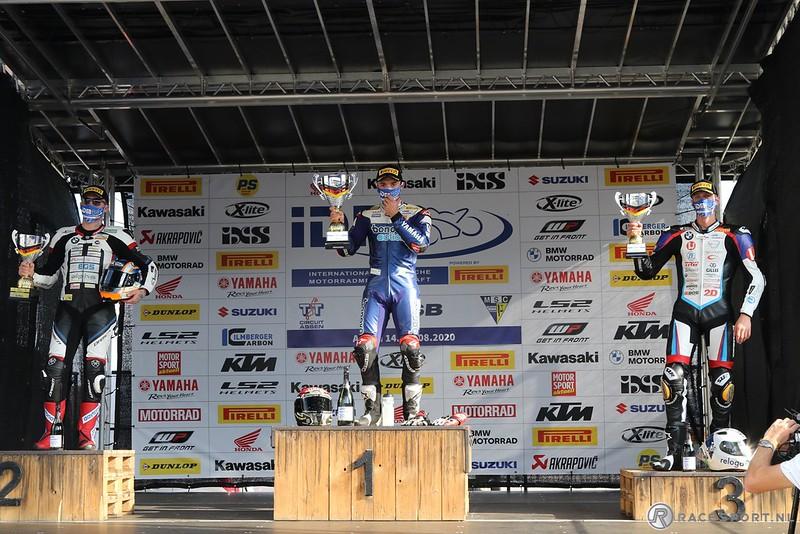 IDM Superbike 1000 podium