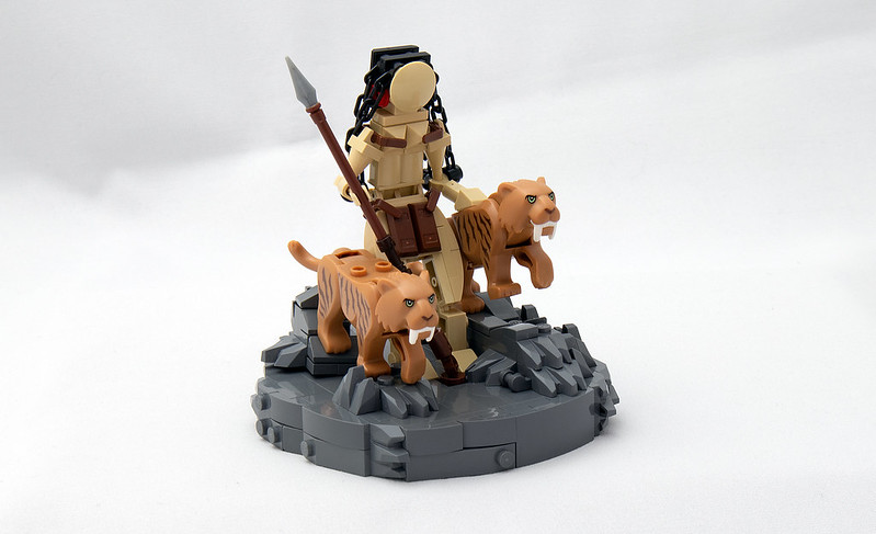 Huntress With Cats