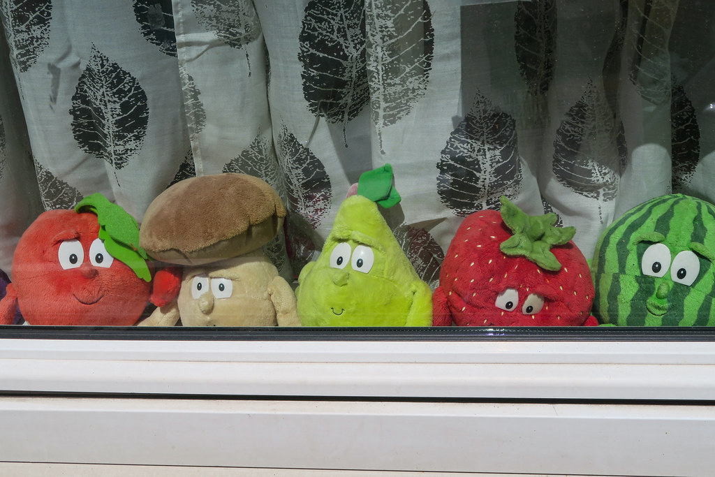 Fruits stuffed toys