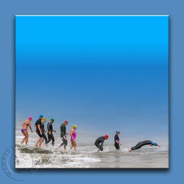 A Cold Atlantic Swim