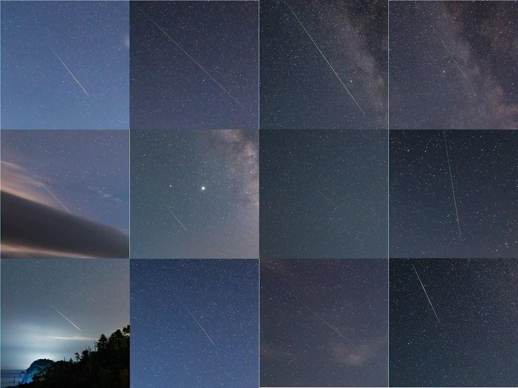 Perseid meteors 2020