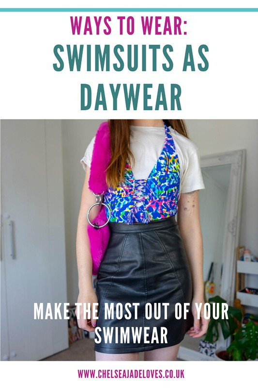 How to wear and style swimsuits as daywear pin